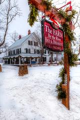 The Farm By the River Bed & Breakfast,  N. Conway, NH (PapaDunes) Tags: winter snow inn whitemountains bb winterwonderland stables mountwashingtonvalley farmbytheriver 2013 sleighrides nconwaynh nconwaynhbbs thefarmbytheriver thefarmbytheriverbedbreakfast