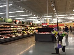 Wal-Mart - Boone, Iowa - Produce (fourstarcashiernathan) Tags: street new for store sam iowa we walmart story satisfaction grocery sell boone department less walton supercenter guaranteed