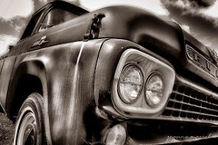 Sunday Drive: Weathered (joannemariol) Tags: auto classic ford truck vintage classiccar retro nostalgia 1958 americana oldtruck fordtruck joannemariol joannemariolphotographics classiccarphotography