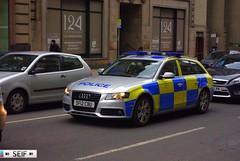 Audi A4 Estate Glasgow 2013   ( SF12 CBU ) (seifracing) Tags: rescue cars car volkswagen scotland europe cops traffic glasgow scottish police vehicles van emergency audi polizei flic spotting services policia strathclyde armed polis polizia ecosse policie arv 2013 seifracing