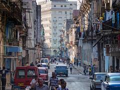 La Habana : survol / overview (!Michel Grenier!) Tags: street people urban action havana cuba activity population peuple urbain lahabana oldhavana streetshooting havane activité vieuxhavane lumixgvario100300f4056 olympusem5