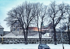 Akershus Fortress (beeccy) Tags: old building brick castle oslo norway rock architecture antique like medieval fortress 1500 1400 akershusfestning akerhus uploaded:by=flickrmobile flickriosapp:filter=nofilter