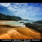 Life's a beach and then you die? Lumahai Beach; Kauai, Hawaii