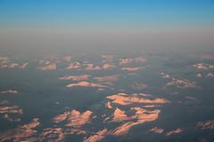 Arctic Circle (Gatria) Tags: sky mountain 3 snow window norway canon airplane sundown mark seat iii skandinavien norwegen ii l 5d 28 sas scandinavia ef mk 2470mm