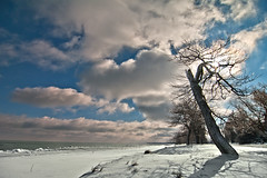 K7_13601 (Bob West) Tags: winter ontario ice beach clouds lakeerie k7 bobwest pentax1650f28