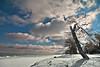 K7_13601 (Bob West) Tags: winter ontario ice beach clouds lakeerie k7 bobwest pentax1650f28