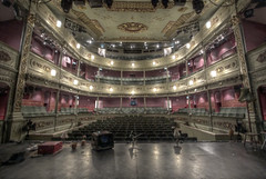 Bristol Old Vic, Theatre Royal - Bristol (Benn Gunn Baker) Tags: lighting street old english heritage canon bristol one 1 king toe baker audience theatre stage royal son grade company step vic seating hdr props benn gunn listed refurbishment 550d i t2i