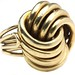 1008. Retro Gold Knot Ring