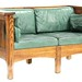 110. Mission Oak Style Loveseat