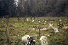Pinhole Tombstones (Thomas Wocial) Tags: old london grave pin hole pinhole dslr tombstones coldfall wocial