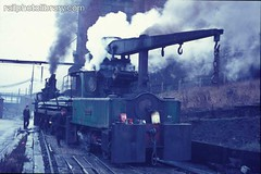 M001-04218.jpg (Colin Garratt) Tags: uk railroad england english industry train industrial britain engine railway steam riverwear british locomotive 1970 sunderland robertstephenson hawthornleslie turretship 040cranetank doxfordshipyard prefabricationshop