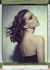 Alex (Braca Nadezdic) Tags: portrait girl studio polaroid 8x10 sinar peelapart polaroid809 polaroid8x10