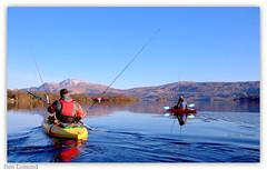 savage adventure (Nicolas Valentin) Tags: blue lake fish scotland fishing kayak adventure kayaking loch lomond kayakfishing savagear
