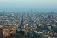 "Bunkers Carmel, antiguas ""barraques"" (Barcelona) (Josmarette) Tags: barcelona sigma carmel carmelo bunkers barracas eixample canoneos400ddigital"