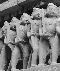 Madhya Pradesh (nicnac1000) Tags: sculpture india statue stone temple sandstone vishnu indian carving unescoworldheritagesite unesco worldheritagesite mp hindu khajuraho madhyapradesh chattarpur lakshmana bundelkhand 10thcentury northindian chhatarpur chandela yashovarman 950ad vaikunthavishnu