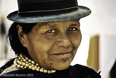 . (Michele Nucera) Tags: ecuador mercato ritratto otavalo tradizionale volto imbabura
