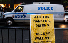 Protest (thethingsitdoes) Tags: nyc newyork protest wallstreet occupywallstreet wearethe99
