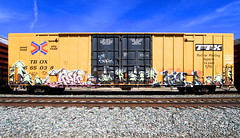 Plant Trees Japan Aider (Hunter Photography !) Tags: japan train de graffiti pop freight plantrees planttrees hunterphotography benching