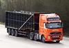 Volvo FH YN08 DTK Valentino Rossi (gylesnikki) Tags: orange truck tipper devon artic bulker mwayson