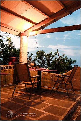 OIA伊亞藝術咖啡館:三芝‧OIA伊亞藝術咖啡館‧吹海風的草泥馬咖啡座