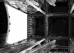 Some Work To Do (donlunzo16) Tags: bw paris france tower construction aperture fuji steel eiffeltower eiffel x series fujifilm x10 xseries