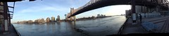 East River Esplanade, iPodography Panorama, Sunday, March 10, 2013 IMG_0430 (smith_cl9) Tags: new york city nyc panorama water silhouette river evening march ipod manhattan side east upper ues esplanade monday 9th ios fdr 96thstreet 2013 franklindelanorooseveltdrive ipodography