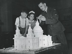 Model of St Pauls Cathedral (Whitechapel Gallery) Tags: art history archive whitechapel 1951 eastlondon whitechapelgallery festivalofbritain barbarajones blackeyesandlemonade