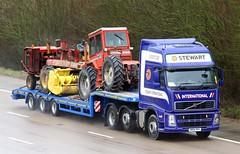 Volvo FH KM56 RRV Stewart International (gylesnikki) Tags: blue truck international stewart artic