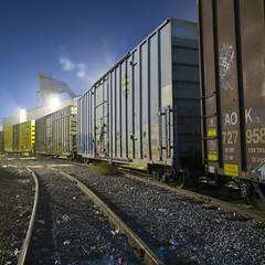 around the bend (TRUE 2 DEATH) Tags: longexposure railroad train graffiti tag graf trains railcar spraypaint boxcar railways railfan freight freighttrain rollingstock benching freighttraingraffiti ricohgriv