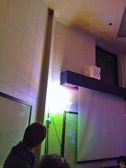 LED lit sculpture