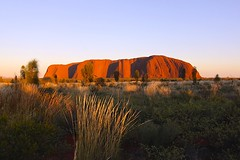Uluru Sunrise (oxfordblues84) Tags: sky sunrise nationalpark desert nt horizon au australia outback uluru northernterritory ayersrock ulurukatatjutanationalpark thenorthernterritory