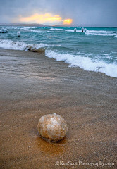 Ice Ball ... (Ken Scott) Tags: winter usa clouds march michigan lakemichigan greatlakes freshwater voted leelanau pyramidpoint iceball goodharborbay backpage 2013 fhdr sbdnl sleepingbeardunenationallakeshore mostbeautifulplaceinamerica