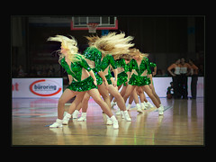 Dragon Ladies (guenterleitenbauer) Tags: pictures ladies sports basketball sport ball star photo google fight europe flickr european day all foto dragon basket cheerleaders image photos action champion picture indoor images fotos match win cheerleader allstar halle mrz gnter korb liga wels wbc  abl 2013 guenter  leitenbauer wwwleitenbauernet allstarday  oebl bl