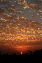 sunscape (Prajna Aurangabad) Tags: sunset sky clouds evening aurangabad todayssunset