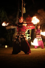 Fire Twirler (brianfarrell) Tags: ocean sea bali indonesia relax march surf peace lot wave serene relaxed tranquil tanahlot tanah 2013