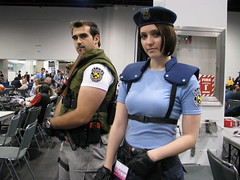 WonderCon 2013 - Resident Evil Cosplay (W10002) Tags: chris cosplay jill evil valentine re residentevil wondercon resident redfield jillvalentine chrisredfield wc13 wc2013 wondercon2013 wondercon13