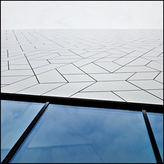 (Maerten Prins) Tags: urban white abstract building eye window glass lines amsterdam modern square mosaic patterns minimal filmmuseum upshot