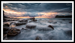 Storm at Whale Beach (Jasonpang88) Tags: sea seascape sunrise rocks d800 rockfishing lee09gnd rockshelf sydneynorthernbeaches jasonpang seascliff divinephotography nikon1635mm jasonpangphotography