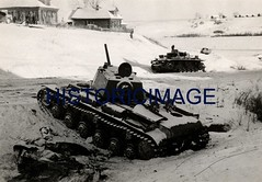 WWII Russian and German Tanks, Eastern Front (Historicimage) Tags: war military wwii militaryhistory worldwartwo warfare vintagephoto germanhistory vintagephotograph germansoldiers germantank vintagephotography militaryphoto russiantank wwiiphoto militaryphotograph armoredwarfare theeasternfront wwiieurope germanmilitaryhistory wwiiphotography wwiirussia germaninvasionofthesovietunion russianmilitaryhistory