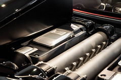 Bugatti Veyron Grand Sport Vitesse (Dylan King Photography) Tags: red canada black sport vancouver lights nikon bc interior tail wheels grand super columbia headlights chrome british rims bugatti dealership w16 gril intake veyron vitesse d90 1200hp 18105mm lamborghiniofvancouver engince bugattiofvancouver