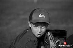 Spring Training (Thūncher Photography) Tags: portrait bw sports hawaii blackwhite nikon baseball maui fullframe fx wailea d700 nikond700 nikkor28300mmf4lens