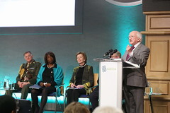 President Higgins speaks at opening session of HNCJ 2013