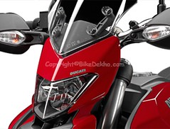 Ducati Hypermotard Hyperstrada ( head-light-view ) (girnar1) Tags: bike ducati hypermotard hyperstrada headlightview