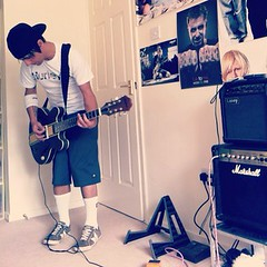 Week off playing (embryonicboy) Tags: rock punk guitar marshall skate blink182 uploaded:by=flickrmobile flickriosapp:filter=nofilter