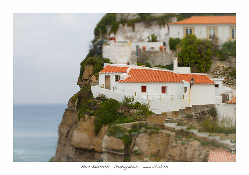 little house on the cliffs