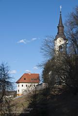 turn (gregork.) Tags: sky church slovenia selo nebo vodice cerkev marec 2013 pomlad rašica