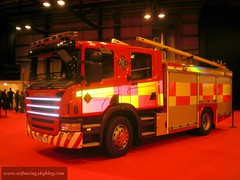 Scania P270 Glasgow 2009 (seifracing) Tags: world uk england rescue ford fire scotland europe britain glasgow emergency 2009 bomberos appliance pompier strathclyde iveco brigade ecosse seifracing