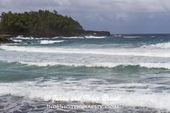 Kaihalulu Red Sand Beach on the Road to Hana JN074100 (JaniceNolan_braud) Tags: kaihaluluredsandbeach maui roadtohana beach dangerous hawaii ocean pacificocean redsandbeach roughocean roughwater tropical
