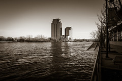 GRAND RAPIDS FLOOD 2013-1387 (RichardDemingPhotography) Tags: flooding flood michigan grandrapids grandriver grandrapidsmichigan floodwater westmichigan downtowngrandrapids puremichigan flood2013 michiganflooding grandrapidsflood