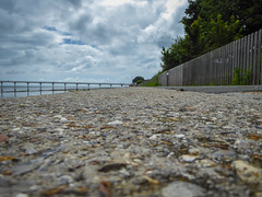Low Down On The Sea Wall (Rob Jennings2) Tags: isleofwight iow bembridge lifeboat lifeboatstation seawall pov low dof